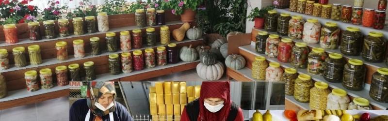 Çubuk Turşu yöresi eşsiz lezzeti ile dünyaya açıldı