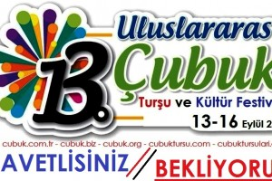 Çubuk turşu festivali 13 Eylül 2018 Başlıyor